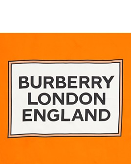 Burberry - Box Border Square Silk Scarf