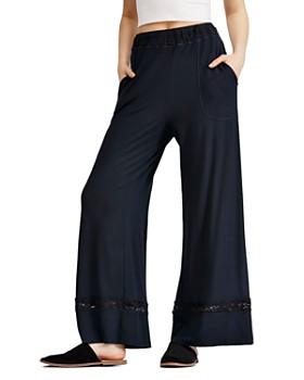 Free People - Maddie Lace-Trim Pants