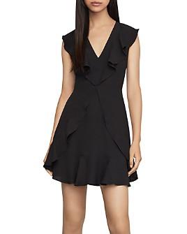 BCBGMAXAZRIA - Ruffled Mini Dress - 100% Exclusive