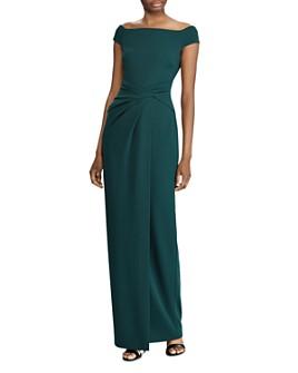 Ralph Lauren - Crêpe Fixed Twist Gown