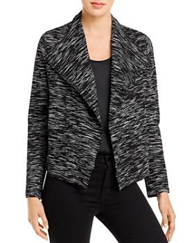 Karen Kane - Space-Dyed Open Jacket - 100% Exclusive