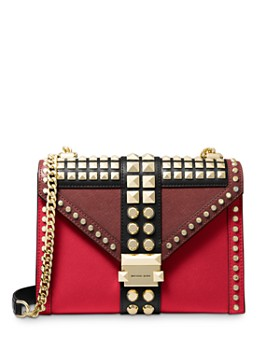 MICHAEL Michael Kors - Whitney Large Studded Convertible Shoulder Bag