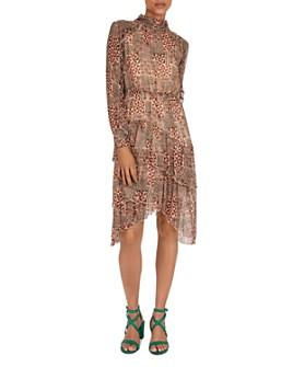 ba&sh - Macha Ruffled Midi Dress
