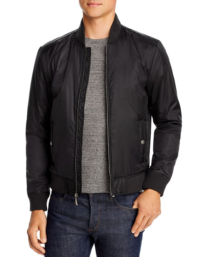Velvet by Graham & Spencer - Douglal Slim Fit Bomber Jacket