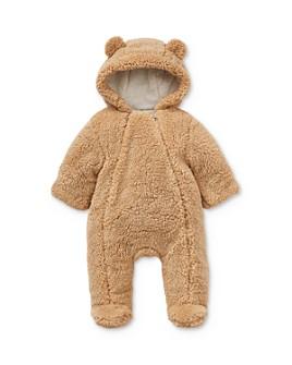 Little Me - Boys' Sherpa Bear Pram Suit - Baby