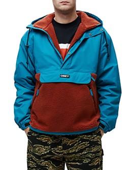 OBEY - Splits Sherpa Anorak Jacket