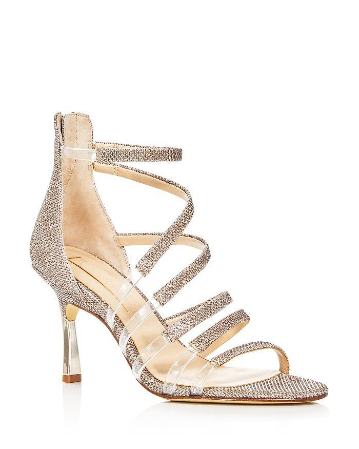 Imagine VINCE CAMUTO - Women's Roselle Glitter Strappy High-Heel Sandals