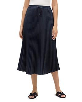 Lafayette 148 New York - Gwenda Pleated Midi Skirt