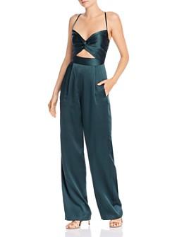 Michelle Mason - Silk Twist Jumpsuit