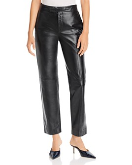 Helmut Lang - Leather Suit Pants
