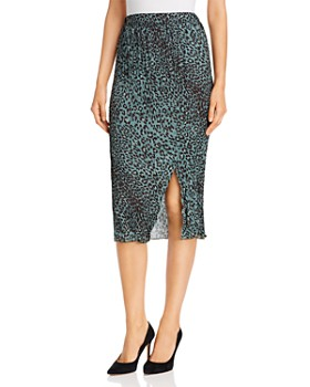 Elan - Slit Pencil Skirt