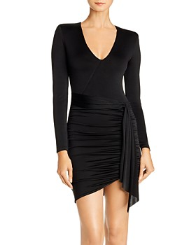 Alice and Olivia - Kyra Draped Ruched Dress