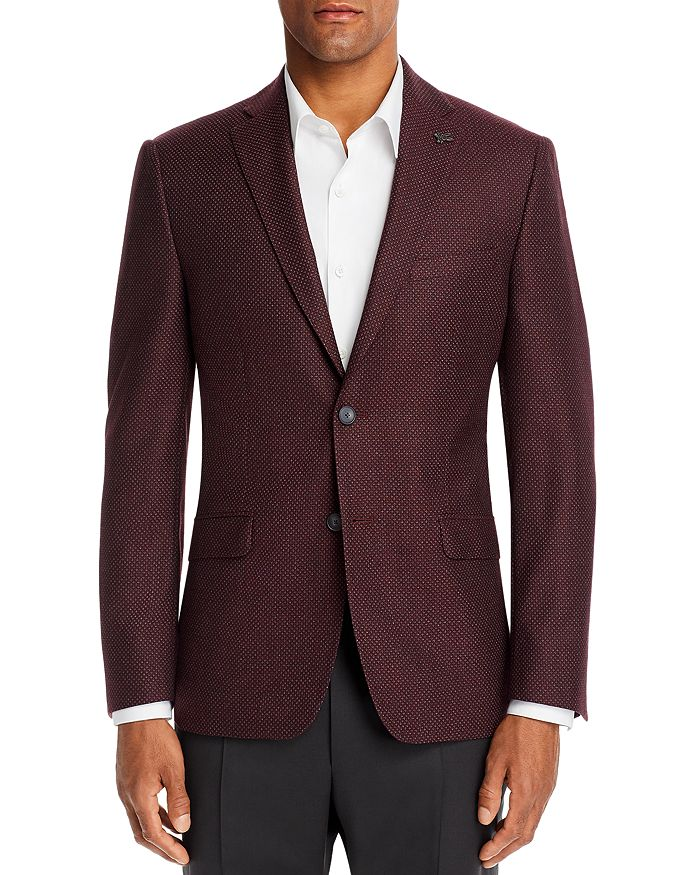 Psycho Bunny - Textured Solid Regular Fit Sport Coat