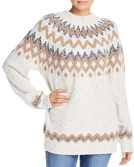 FRENCH CONNECTION - Leena Fair Isle Knits Sweater