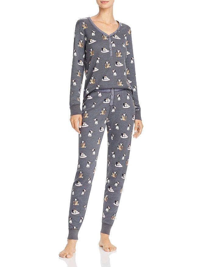 AQUA - Thermal Pajama Set - 100% Exclusive