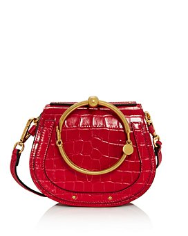 Chloé - Nile Small Croc-Embossed Satchel