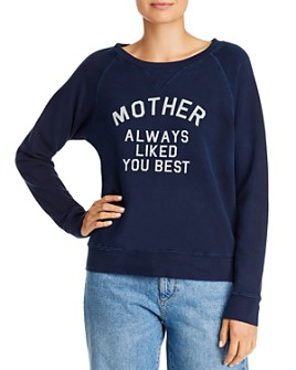 MOTHER - The Square Mother Always Liked You Best Sweatshirt
