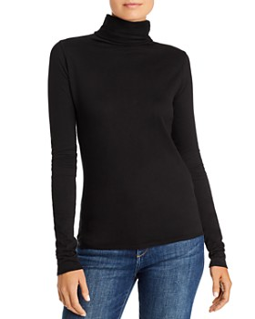 Bella Dahl - Cotton Turtleneck Top