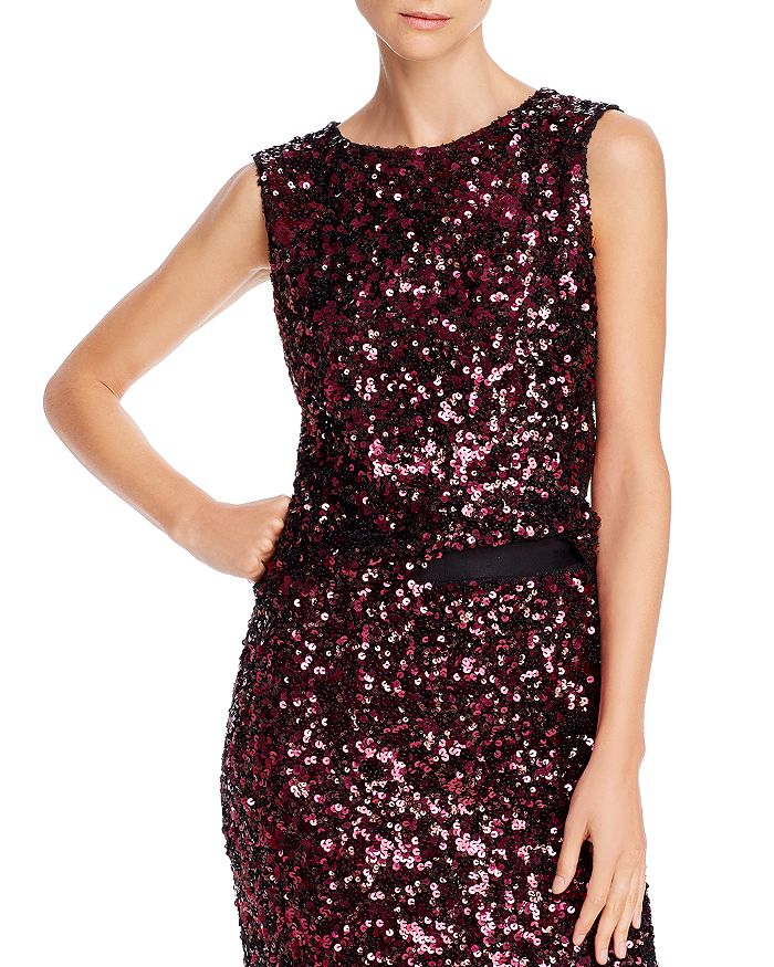 Rebecca Taylor - Sleeveless Sequined Top