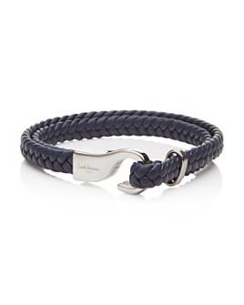 Babette Wasserman - Marine Woven Leather Bracelet