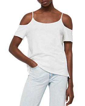 ALLSAINTS - Brady Cold-Shoulder Tee