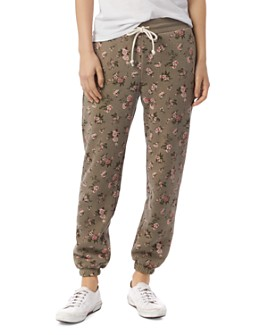 ALTERNATIVE - Floral Sweatpants