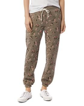 ALTERNATIVE - Floral Sweatpants