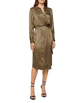 REISS - Katie Collared Wrap Dress