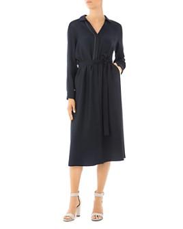 Peserico - Belted Midi Shirt Dress