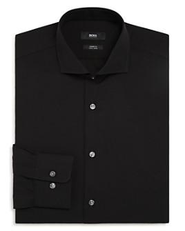 BOSS - Solid Slim Fit Dress Shirt