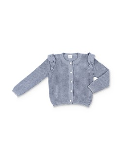 EGG new york - Girls' Eloise Ruffled Cardigan - Baby