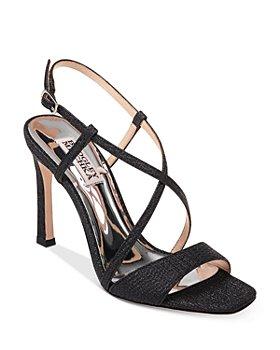 Badgley Mischka - Women's Ebiza Metallic High-Heel Sandals