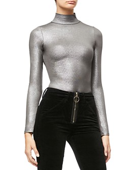 Good American - Mock Neck Bodysuit