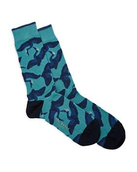 Ted Baker - Crane Jacquard Socks