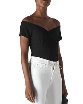 Whistles - Bardot Off-the-Shoulder Top