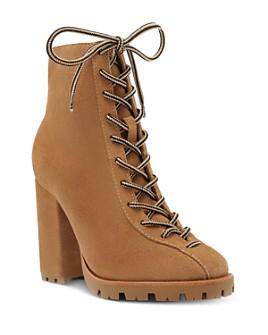 SCHUTZ - Women's Naina Block Heel Hiker Boots