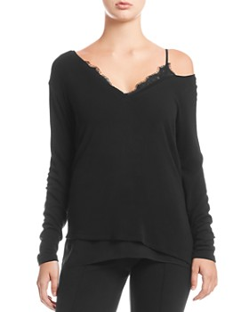 Bailey 44 - Hannah Lace-Trim Cutout Sweater