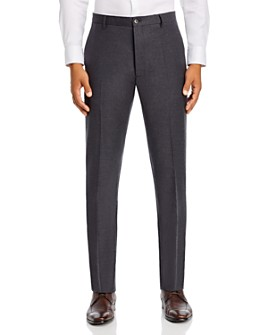 Zanella - Noah Stretch Flannel Slim Fit Dress Pants - 100% Exclusive