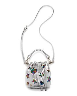JOJO SIWA by BETSEY JOHNSON - Girls' Metallic Drawstring Bucket Bag - 100% Exclusive