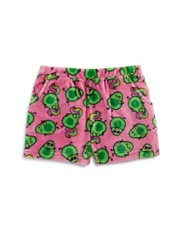 Candy Pink - Girls' Avocado Print Pajama Shorts - Little Kid, Big Kid