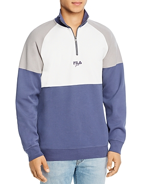 Fila Fjeld Sebastian Color-Block Quarter-Zip Sweatshirt