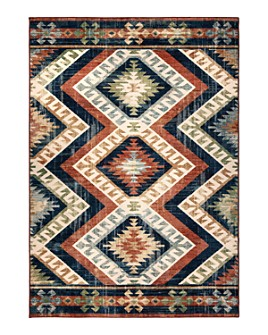 Palmetto Living - Alexandria Kilim Diamonds Area Rug Collection