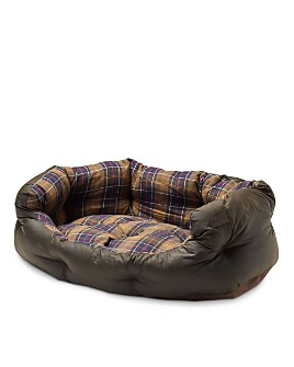 Barbour - Waxed Cotton Dog Bed, 35""