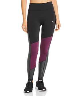 PUMA - After Glow Color-Block Leggings