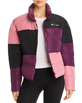 Champion - Color-Block Puffer Jacket