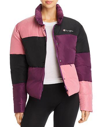 Champion - Color-Block Puffer Jacket