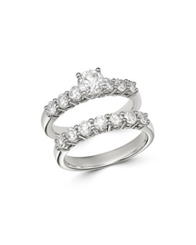 Bloomingdale's - Diamond Engagement Ring Set in 14K White Gold, 2.0 ct. t.w. - 100% Exclusive
