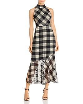 Sam Edelman - Plaid Midi Dress