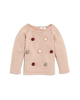 Tun Tun - Girls' Pom-Pom Sweater - Baby