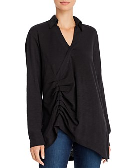 Wilt - Asymmetric Ruched Top
